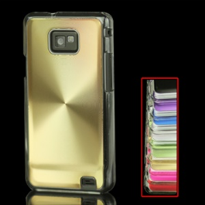 High Quality CD Veins Circle Hard Shell Case for Samsung i9100 Galaxy S 2