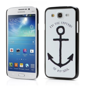 Anchor I AM THE CAPTIAIN Hard Skin Case for Samsung Galaxy Mega 5.8 I9150 I9152