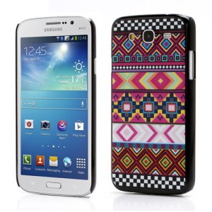 Tribal Tribe Stripe Matte Hard Case Cover for Samsung Galaxy Mega 5.8 I9150 I9152