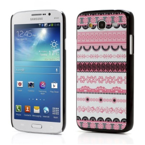 Tribe Style Plastic Hard Skin Case Shell for Samsung Galaxy Mega 5.8 I9150 I9152