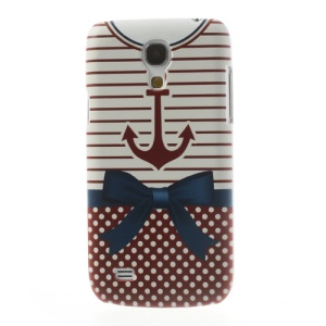 Stripe & Dots Shirt Hard PC Cover for Samsung Galaxy S4 mini i9190
