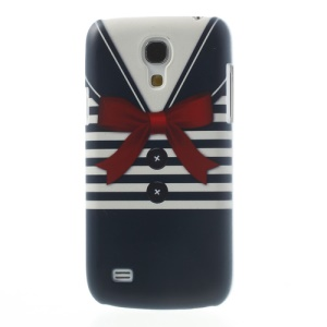 Blue Stripe Shirt Hard Back Case for Samsung Galaxy S4 mini i9190