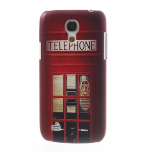 Telephone Booth for Samsung Galaxy S4 mini i9195 Plastic Shell