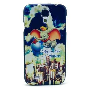 Cute Cartoon Elephant Hard Shell Case for Samsung Galaxy S4 mini I9195 I9192 I9190