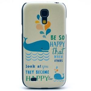Blue Dolphin Hard Case Shell for Samsung Galaxy S4 mini I9195 I9192 I9190