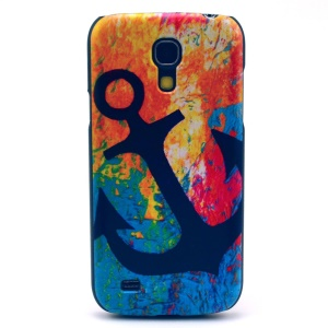 Anchor in Colorized Background Hard Cover Shell for Samsung Galaxy S4 mini I9195 I9192 I9190