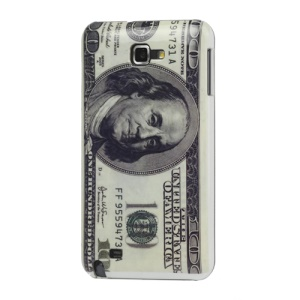 Hundred Dollar Hard Plastic Case for Samsung Galaxy Note I9220 GT-N7000 I717