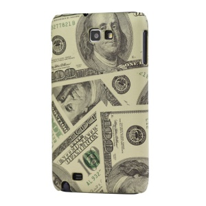 US Dollar Hard Case for Samsung Galaxy Note I9220 GT-N7000 I717- Yellow