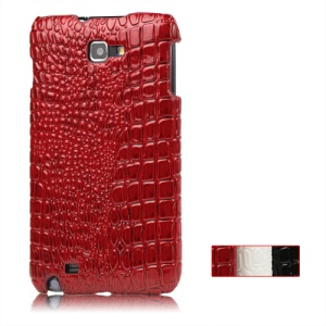 Crocodile Skin Hard Case for Samsung Galaxy Note I9220 GT-N7000 I717