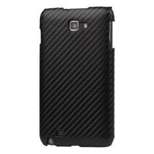 Carbon Fiber Hard Plastic Case for Samsung Galaxy Note I9220 GT-N7000 I717