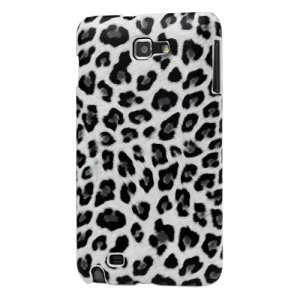 Leopard Leather Coated Hard Case for Samsung Galaxy Note I9220 GT-N7000 I717
