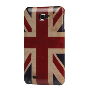 For Samsung Galaxy Note I9220 GT-N7000 I717 Hard Case Cover Retro Union Jack Flag