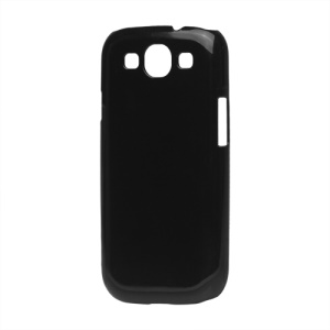Clear Crystal Case for Samsung Galaxy S 3 / III I9300 I747 L710 T999 I535 R530 - Black