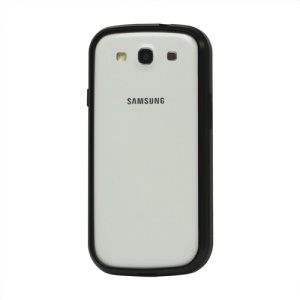 Aluminum Metal Alloy Bumper Case for Samsung Galaxy S 3 / III I9300 I747 L710 T999 I535 R530 - Black