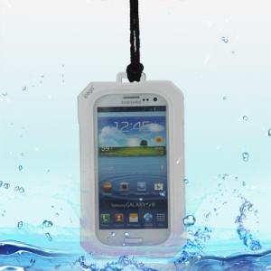 iPega Best Samsung Galaxy S 3 / III I9300 Waterproof Case for Life in Water Dirt Snow - White