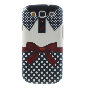For Samsung Galaxy S3 I9300 Polka Dots Shirt Hard Cover