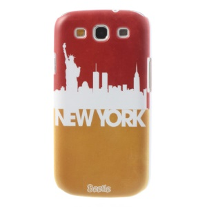 For Samsung Galaxy S 3 I9300 New York Impression Hard Back Shell