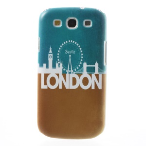 For Samsung Galaxy S 3 I9300 London Impression Hard Protective Case