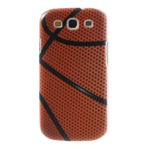 Basketball Pattern Hard Skin Cover for Samsung Galaxy S3 I9300