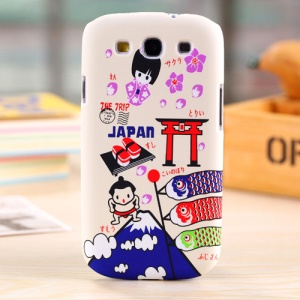 Umku Japan Elements Hard Plastic Shell for Samsung Galaxy S3 I9300