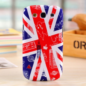 Umku Union Jack & UK Scenes PC Hard Cover for Samsung Galaxy S3 T999
