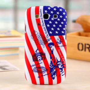 Umku Hard Skin Cover for Samsung Galaxy S3 T999 The Statue of Liberty & White House