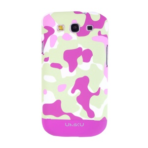 Rose Umku Camouflage Series for Samsung Galaxy S3 I9300 Plastic Cover
