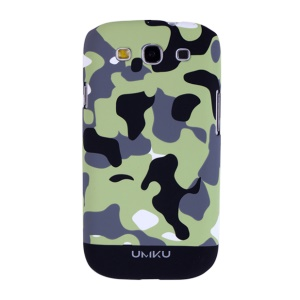 Black Umku Camouflage Series for Samsung Galaxy S3 I9300 Hard Case