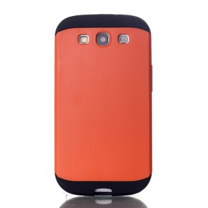 2 in 1 Slim Armor PC & TPU Combo Case for Samsung Galaxy S3 i9300 - Orange
