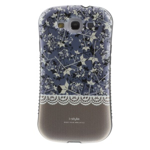 Superb iFace i-style Brown Leaves PC + TPU Hybrid Protector Case for Samsung Galaxy S3 i9300