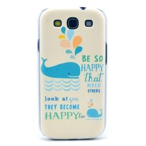 Blue Dolphin Hard Plastic Case for Samsung Galaxy S3 i9300