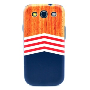 Gradient Stripes Hard Cover Shell for Samsung Galaxy S3 i9300