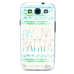 HAKUNA MATATA Ripples Hard Case Accessory for Samsung Galaxy S3 i9300