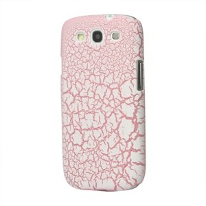 Snow Flake Rubberized Hard Case for Samsung Galaxy S 3 / III I9300 I747 L710 T999 I535 R530 - Pink
