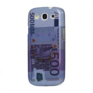 Vintage 500 Euro Plastic Case for Samsung Galaxy S 3 / III I9300 I747 L710 T999 I535 R530