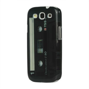 For Samsung Galaxy S 3 / III I9300 I747 L710 T999 I535 R530 Hard Case Old Looking Cassette Tape