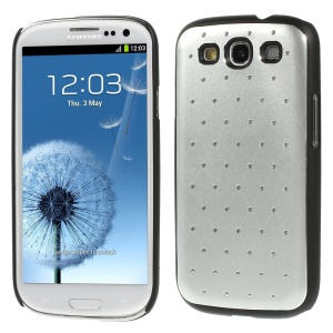 Starry Sky Rhinestone PC Hard Case for Samsung Galaxy S3 Neo I9300I I9301I / Galaxy S3 I9300 - Silver