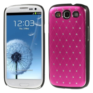 Starry Sky Rhinestone PC Back Shell for Samsung Galaxy S3 Neo I9300I I9301I / Galaxy S3 I9300 - Rose