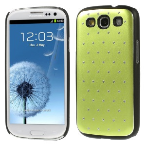 Starry Sky Rhinestone PC Back Cover for Samsung Galaxy S3 Neo I9300I I9301I / Galaxy S3 I9300 - Green