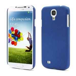 Quicksand Hard Case Cover for Samsung Galaxy S 4 IV i9500 i9505 - Dark Blue