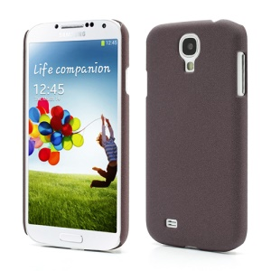 Quicksand Plastic Hard Case Shell for Samsung Galaxy S4 S IV i9500 i9505 - Coffee