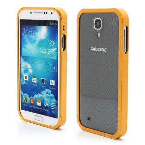 Aluminum Metal Slide-On Frame Bumper Case for Samsung Galaxy S IV S 4 i9500 i9502 i9505 - Gold
