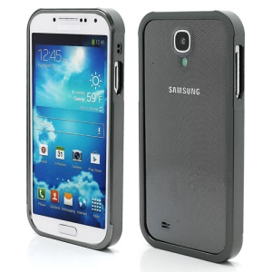 Aluminum Metal Slide-On Frame Bumper Case for Samsung Galaxy S IV S 4 i9500 i9502 i9505 - Grey