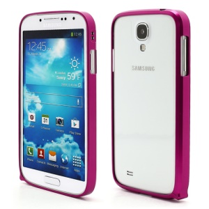 Slim Premium Aluminium Metal Bumper Case for Samsung Galaxy S4 i9500 i9502 i9505 - Rose