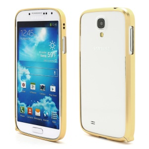 Slim Premium Aluminium Metal Bumper Case for Samsung Galaxy S4 i9500 i9502 i9505 - Light Yellow