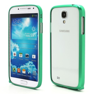 Slim Premium Aluminium Metal Bumper Case for Samsung Galaxy S4 i9500 i9502 i9505 - Green