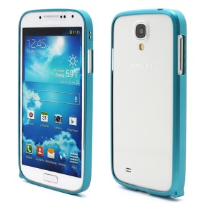 Slim Premium Aluminium Metal Bumper Case for Samsung Galaxy S4 i9500 i9502 i9505 - Baby Blue