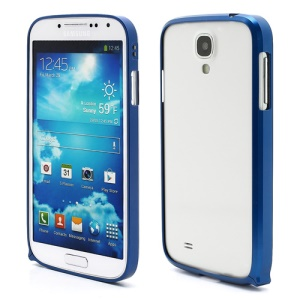 Slim Premium Aluminium Metal Bumper Case for Samsung Galaxy S4 i9500 i9502 i9505 - Dark Blue
