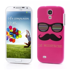 Rose Le Moustache Back Case Cover for Samsung Galaxy S4 S IV i9500 i9505