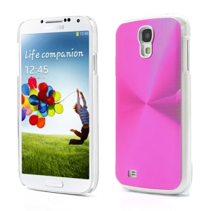 CD Veins Metal Aluminium Hard Case Shell for Samsung Galaxy S IV S4 i9500 i9505 - Rose